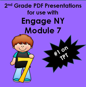 Engage New York Math Second Grade Module 7  PDF Presentations 19 Lessons