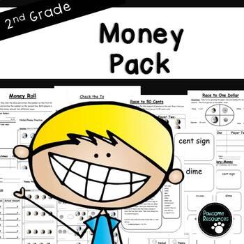 Second Grade Money Resource Pack