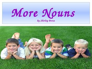 "Second Grade ""More Nouns"" Power Point"