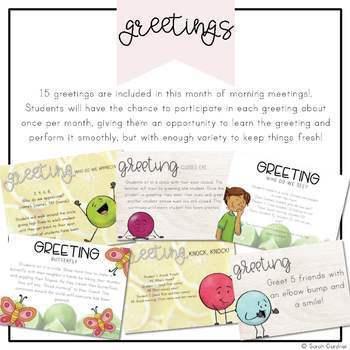 Second Grade Morning Meeting - June