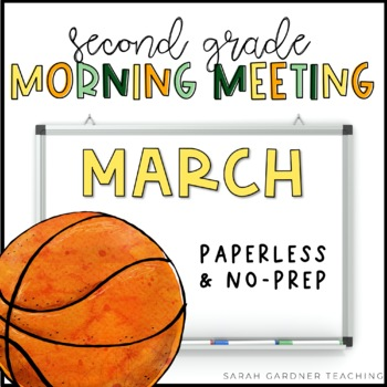 Second Grade Morning Meeting Messages - March