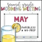 Second Grade Morning Meeting - May