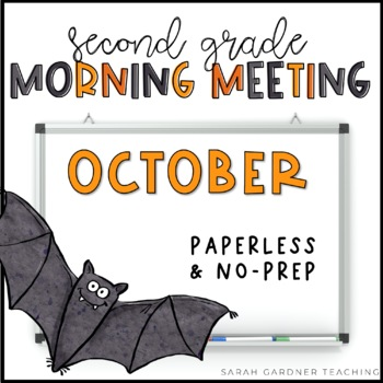 Second Grade Morning Meeting Messages - October