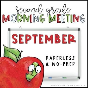 Second Grade Morning Meeting Messages - September