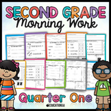 Second Grade Morning Work: Quarter 1