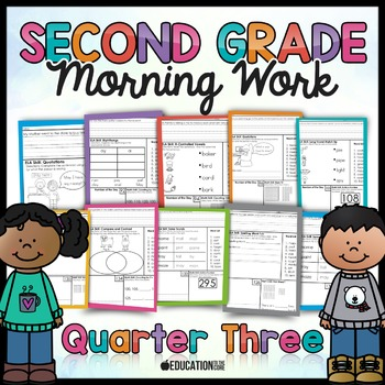 Second Grade Morning Work: Quarter 3