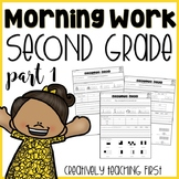 Second Grade Morning Work (Part 1)