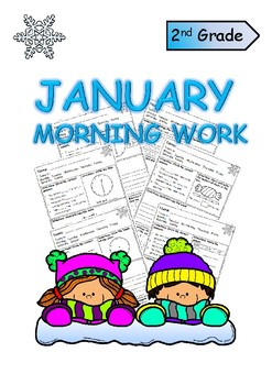 Second Grade January Morning Work