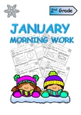 Second Grade January Morning Work