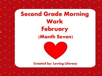 Second Grade Morning Work February