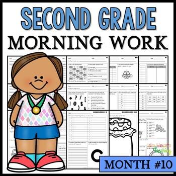 Month #10 Morning Work: Second Grade Morning Work