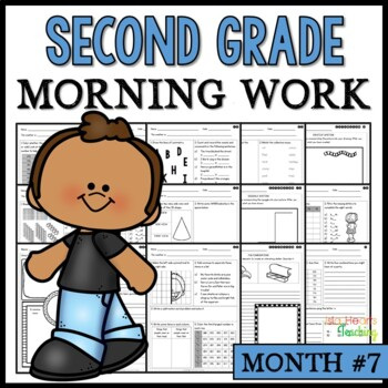 Month #7 Morning Work: Second Grade Morning Work