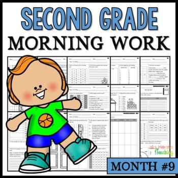 Month #9 Morning Work: Second Grade Morning Work