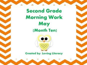 Second Grade Morning Work May