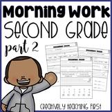 Second Grade Morning Work (Part 2)