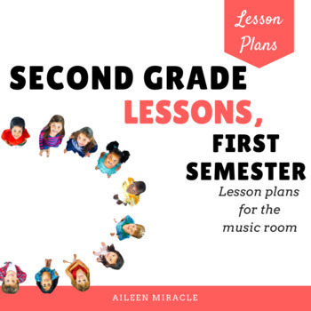 Second Grade Music Lessons {First Semester}