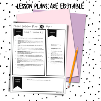 Music Lesson Plans for Second Grade {Entire Year Bundle}