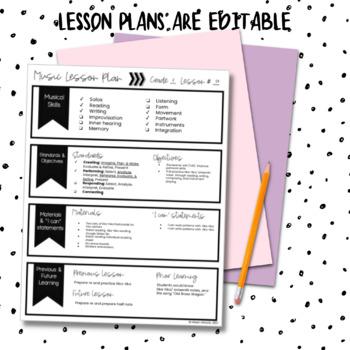 Second Grade Music Lessons {Second Semester}