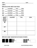 Second Grade NBT Assessment Pack