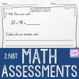 Math Assessments - Second Grade Base Ten