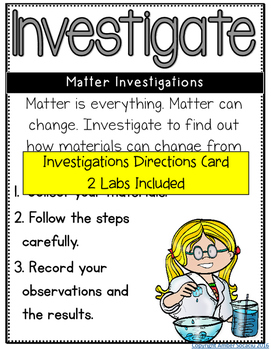 Second Grade NGSS Activities
