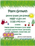 Second Grade Life Science and Math -Plant Growth