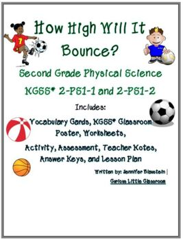 Second Grade Physical Science - Bouncing
