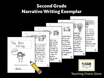 Second Grade Personal Narrative Writing Exemplar (Lucy Calkins Inspired)