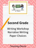 Second Grade Personal Narrative Writing Paper (Lucy Calkins Inspired)