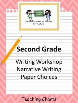 Second Grade Personal Narrative Writing Paper (Lucy Calkin