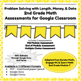 Engage NY Second Grade New York State Math Module 7 Assessment