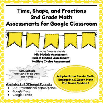 Engage NY Second Grade New York State Math Module 8 Assessment