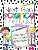 Second Grade Next Generation Science Standards Checklist 2