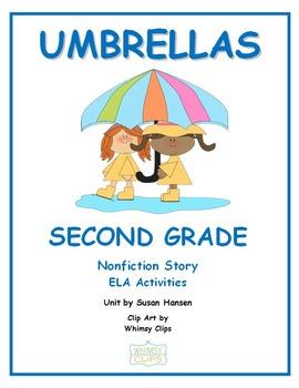 Second Grade Spring Activities Umbrella Theme