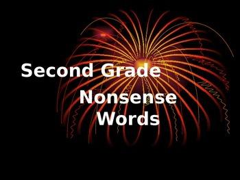 Second Grade Nonsense Words