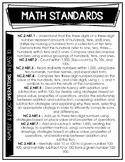 Second Grade North Carolina Standard Course of Study Stand