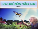"""Second Grade """"One and More Than One"""" Noun Power Point"""