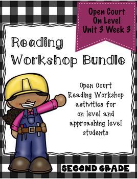 Second Grade Open Court Reading Workshop Activities Unit 3 Lesson 3