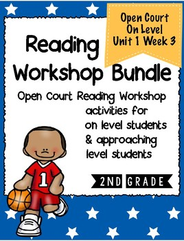 Second Grade Open Court Reading Workshop Bundle Unit 1 Lesson 3