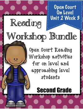 Second Grade Open Court Reading Workshop Bundle Unit 2 Week 3