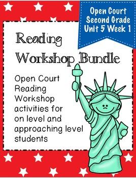 Second Grade Open Court Reading Workshop Bundle Unit 5 Lesson 1