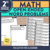 Open Ended Math Problems Grade 2