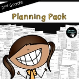 Second Grade Curriculum Planning (CCSS and NGSS, EDITABLE version included!)