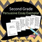 Second Grade Persuasive Essay Writing Exemplar (Lucy Calkins Inspired)