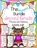 Second Grade Phonics Complete Bundle