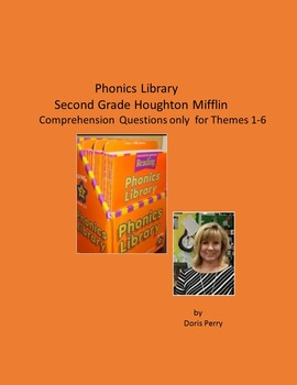 Second Grade Phonics Library comprehension questions Theme 1-6