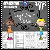 Second Grade Phonics Pack - Long and Short Vowels