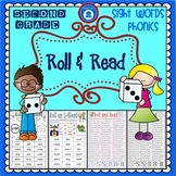 Second Grade Phonics & Sight Word Pack - Roll and Read {BrE Version}