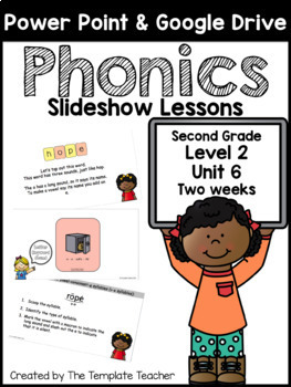 Second Grade Phonics Slideshow Lessons Unit 6