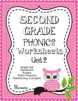 Second Grade Phonics Unit 2 Worksheets